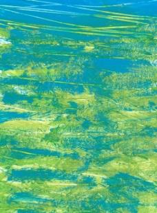 青蓝色水墨刷痕背景