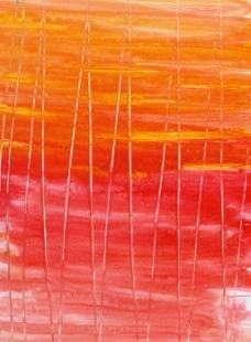 红色线条凸起刷痕背景