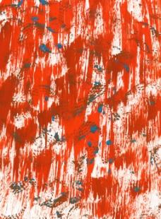 炫酷红色刷痕背景