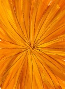 橙色光线刷痕背景