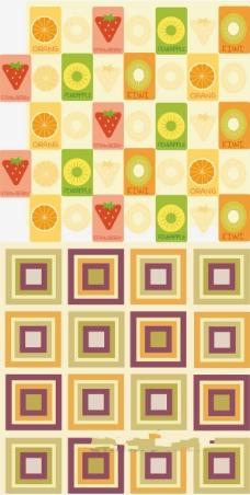 水果背景矢量图