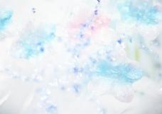 蓝色梦幻背景