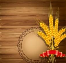 小麦水稻麦穗图片