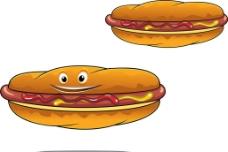 热狗西餐快餐图片