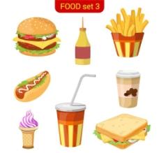 西餐快餐图片