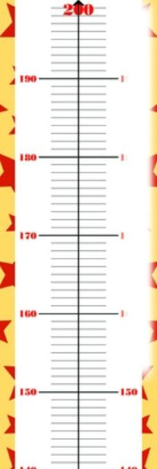 身高测量表图片