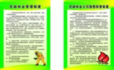 林业管理制度牌