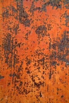 橙色铁锈背景