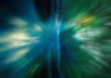青色神奇射线背景