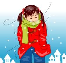 冬天里的孩子