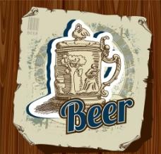 啤酒设计图片