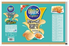 比克薯片包装设计免费下载,