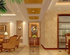 金色走廊设计