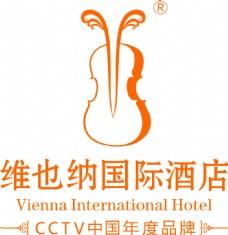 维也纳国际酒店标志logo