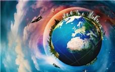 地球 外星球 科幻
