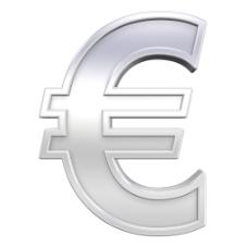 欧元符号字符集与框架中的铬