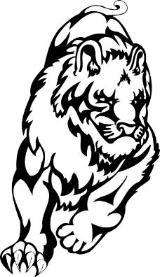狮子简笔画可爱