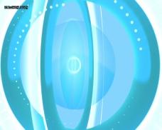 蓝色水晶球