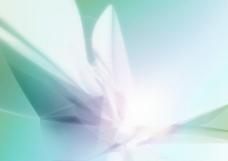 青色极光背景图片