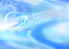 蓝色圈圈背景图片