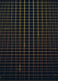 黄色网格线背景图片