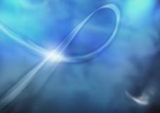 蓝色运动光线背景图片