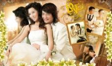 婚庆照片墙图片