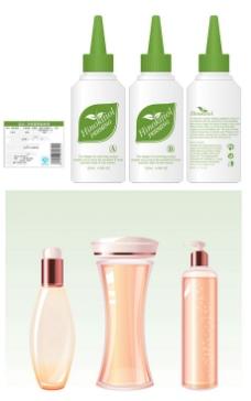 化妆品瓶装设计模板素材