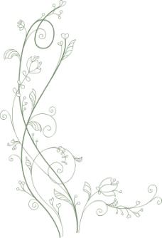 花卉矢量元素