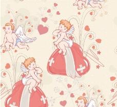 爱美丽天使矢量素材