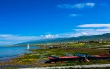 青海湖风光图片