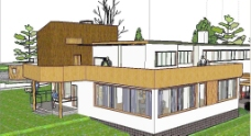 做得很細的瑪麗亞別墅SU模型