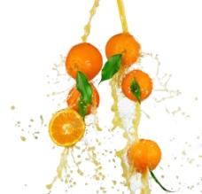 桔子汁图片