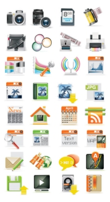 数码科技类icon素材
