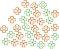 花朵矢量素材