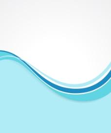 老式的波状横幅设计