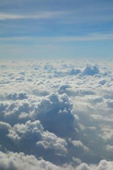 云层景观图片