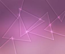 粉红色背景发光的形状