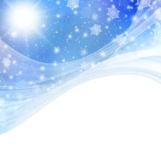 蓝色炫彩背景图片