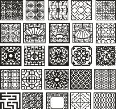 F方格子底纹25款图片