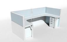 办公家具之办公单元0373D模型