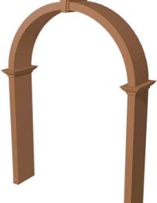 室内装饰建筑部件之门套243D模型