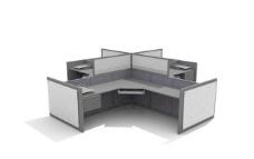 办公家具之办公单元0153D模型