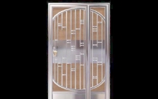 室内装饰建筑部件之门-0353D模型