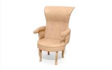 欧式家具椅子0393D模型