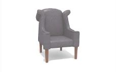 欧式家具椅子0413D模型
