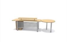办公家具之办公单元0393D模型