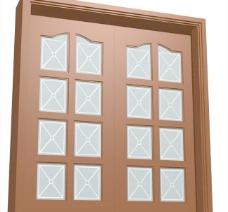 室内装饰建筑部件之门套313D模型