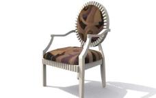 欧式家具椅子0353D模型