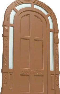 室内装饰建筑部件之门套403D模型